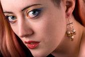 Krásná žena při pohledu na vás — Stock fotografie