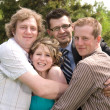 Three Brothers and Sister — Stock Photo #3821689