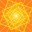 Royalty-Free Stock Vector Image: Geometric orange background