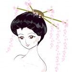 Geisha — Stock Vector