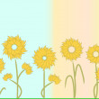 Flowers background - Imagen vectorial