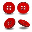 3D buttons — Stock Vector