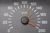 Automobile speedometer — Stock Photo