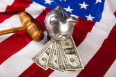American Justice — Stock Photo