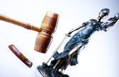 Lady of justice, Law — Stock Photo