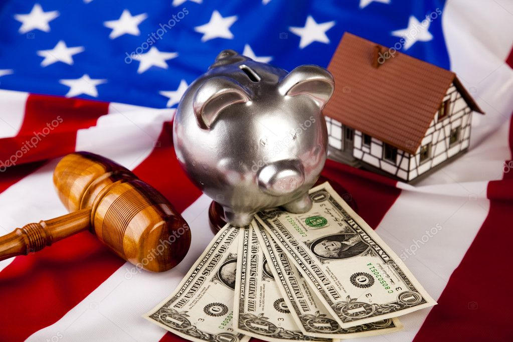 Law theme, mallet of judge!  — Stock Photo #3788971