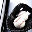 Baseball Detail - Stock Photo
