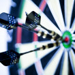 Darts series — Stockfoto