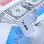 Money and Diagram — Stock Photo #3793220