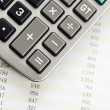 Financial Planning, Calculator — Stock Photo