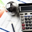 Financial Planning, Calculator — Stockfoto