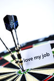 Love my job — Stock Photo