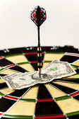 Bullseye,conceptual,success — Stock Photo