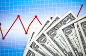 Balancing the Accounts, Money — Stock Photo