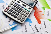 Office, Balancing the Accounts — Stock Photo