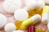 Kolekcja leków — Zdjęcie stockowe