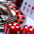 Las Vegas game, Roulette — Stock Photo