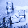 Background with ice cubes — Stock Photo #3818011