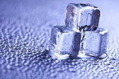 Cold background — Stock Photo