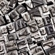 Stock Photo: Typography style