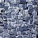 Print letter cases — Stock Photo #3823572