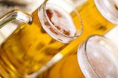 Pivní sklo — Stock fotografie