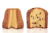 Pandoro and Panettone Cakes — Stock Photo