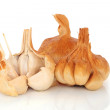 Foto Stock: Smoked Garlic Cloves