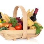 Italian Food Selection — Stock Photo