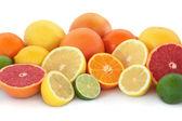 Citrusfrukter urval — Stockfoto
