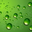 Water drops vector background. - Image vectorielle