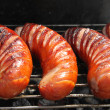Grilled sausages — Stockfoto