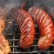 Stock Photo: Grilled sausages