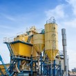 Stock Photo: Cement factory