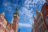 Gdansk town hal — Stock Photo
