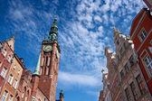 Gdańsk miastem hal — Zdjęcie stockowe