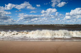 Baltic sea beach — Stock Photo