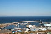 Fishermans port — Stock Photo