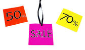 Sale labels — Foto de Stock