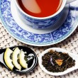 Healthy cup of tea - Foto Stock