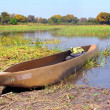 """Mokoro"" boat — Stock Photo"
