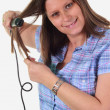 Stock Photo: Hair iron
