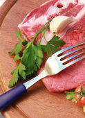 Beef fillet — Stock Photo