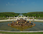 Fountain in versailles — Stock Photo