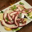 Octopus salad — Stock Photo #3444355