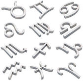 Signos del zodiaco — Foto de Stock