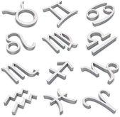 Signos do zodíaco — Foto Stock