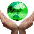 Caring for Earth — Stock Photo