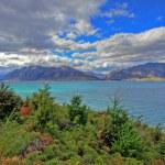 Glacial lakes road — Stock Photo #3367051