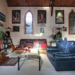 Eclectic Living Room — Stock Photo